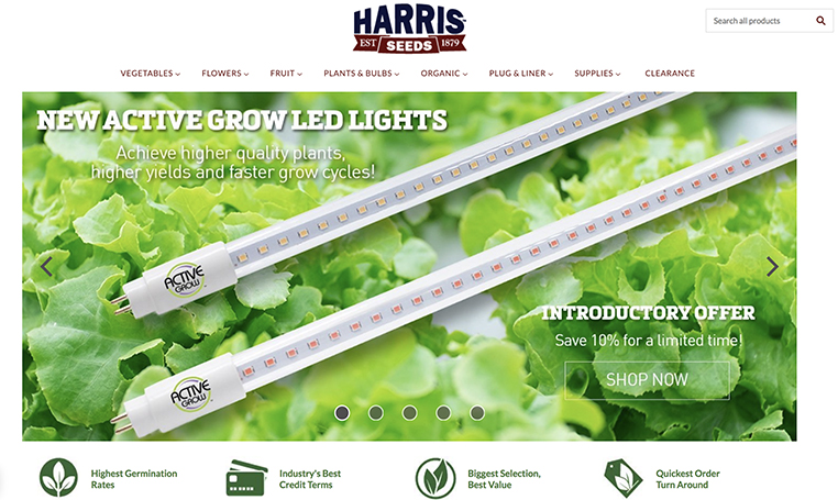 Active Grow Begins Distributor Partnership with Harris Seeds and Garden Trends