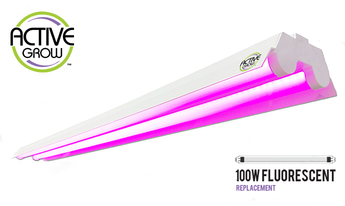 Active Grow Launches LED Grow Light Fixture for Microgreens & Tissue Culture